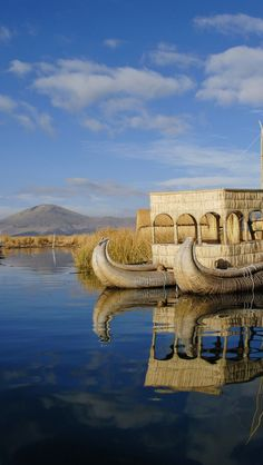 Floating Uros Islands, Lake Titicaca Puno, Peru - Explore the World with Travel Nerd Nici, one Country at a Time. http://TravelNerdNici.com