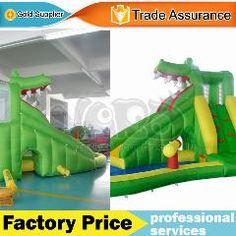 [ $80 OFF ] Dhl  Jungle Bounce House Inflatable Slide Bouncer Moonwalk Jumper For Kids
