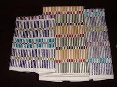 Image associée Loom Weaving, Hand Weaving, Ravelry, Weaving Patterns, Tea Towels, Color Inspiration, Textiles, Stripes, Belt