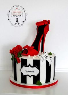 Shoe cake - For all your shoe cake decorating supplies, please visit http://www.craftcompany.co.uk/catalogsearch/result/?q=shoe https://ladieshighheelshoes.blogspot.com/2016/10/womens-shoes.html