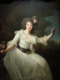Louise Rosalie Dugazon als Nina 1787 by Louise Élisabeth Vegée Lebrun.