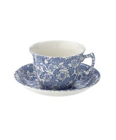 chintz teacup and saucer
