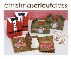 Lisa's Creative Corner: Artiste Cricut Project Kit - Christmas Packaging