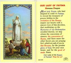 May 13 is the feast day of Our Lady of Fatima,.  She has always had special meaning in my heart ever since I was younger, maybe it's because she appeared to children. Today we celebrate her and ask for many blessings.