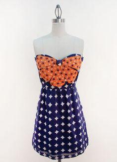 my new auburn dress!