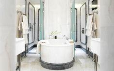 David Collins Studio - The Apartment at the Connaught, the Connaught Hotel Studio Interior, Best Interior, Cafe Bar, Hotel Bathroom Design, Hotel Bathrooms, Bath Design, Design Design, Connaught Hotel, Peter Marino