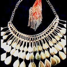 Laetitia Peacock Necklace $110.000