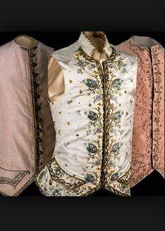 Gorgeous 18th century men's vest