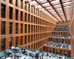 Library Of Humboldt University, Berlin, Niemcy