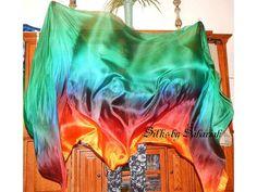 Sahariah's Silk Belly Dance Veil Rectangle original