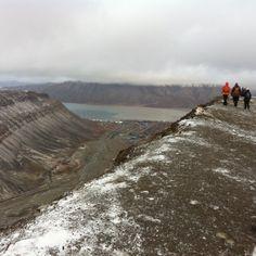 Syysretki Huippuvuorille, Sarkofagen Longyearbyen
