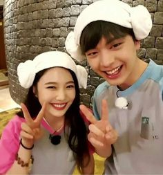 """""""We Got Married"""" BTOB's Yook Sungjae and Red Velvet's Joy Yook Sungjae Cute, Sungjae And Joy, Yongin, Wgm Couples, Cute Couples, South Korean Girls, Korean Girl Groups, We Get Married, Red Velvet Joy"""