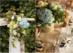 Rustic Wedding Florals from rusticweddingchic.com
