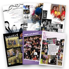 Sample Yearbook pages for inspiration Secondary School, Primary School, Yearbook Pages, Yearbook Ideas, Leavers Hoodies, Yearbook Template, School Leavers, Printing And Binding, Yearbook Design