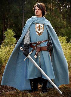 Surcoat with Jerusalem Cross