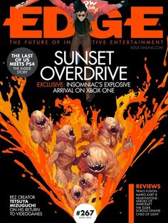 #Edge 267. Rez creator tetsuya mizuguchI on his return to VIDEO games, sunset overdrive exclusive: Insomniac's explosive arrival on xbox one and much more...