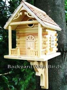 bird house log cabin