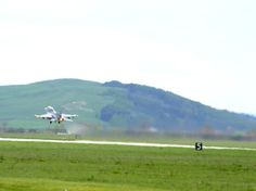A U.S. Air Force F-16 Fighting Falcon takes off from Campia Turzii, Romania, during Exercise Dacian Viper 2014 on April 10, 2014. The exercise aims to enhance interoperability and readiness through combined air operations, including air-to-air, air-to-ground, and joint tactical air controller training. (U.S. Air Force photo/Staff Sgt. R.J. Biermann)