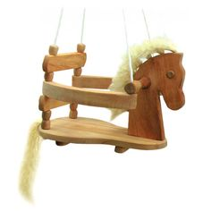 Nova Natural Toys & Crafts - horse swing