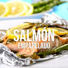 Recipes are offered on our site. Salmon Recipes, Fish Recipes, Seafood Recipes, Cooking Recipes, Healthy Recipes, Cooking Pasta, Mexican Food Dishes, Mexican Food Recipes, Tasty Videos