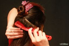 Preparing your hair for the extensions