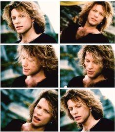 "Jon Bon Jovi in ""This Ain't A Love Song"" music video 1995. @bonjovigoodies   Instagram"