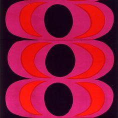 Design is fine. History is mine. — Maija Isola fabric panel, by Marimekko,...