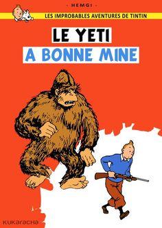Les Aventures de Tintin - Album Imaginaire - Le Yéti à Bonne Mine