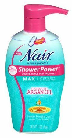 Nair Hair Remover Shower Power Max Argan Oil 13oz Pump - http://www.theperfume.org/nair-hair-remover-shower-power-max-argan-oil-13oz-pump/