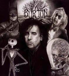 I am big into Tim Burton. His use of color, texture and music as well as his stories, make him pretty fantastic.