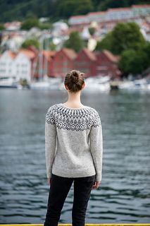 Ravelry: Treelight pattern by Jennifer Steingass Jumper Patterns, Sweater Knitting Patterns, Knit Patterns, Knitting Sweaters, Fair Isle Knitting, Free Knitting, Icelandic Sweaters, Mens Jumpers, Sweater Design