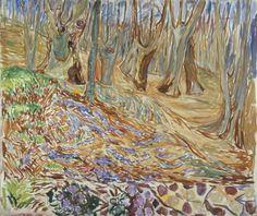 Edvard Munch (Norwegian, 1863-1944), Spring in the Elm Forest, 1923 Oslo, Munch Museum