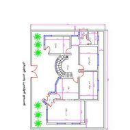 خرائط بناء منازل صغيرة 30x50 House Plans, Home Map Design, House Floor Design, Iron Gate Design, Architectural House Plans, Model House Plan, House Map, Family House Plans, Free Pdf Books