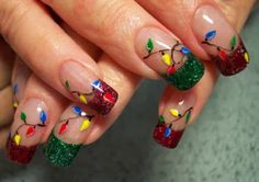 christmas nails arts designs