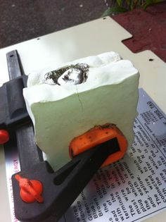 Pewter casting at home