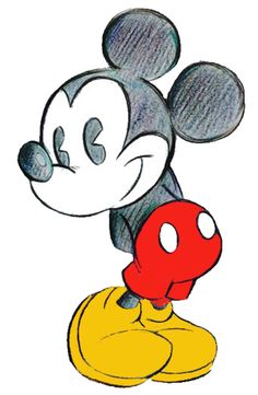 Mickey Mouse Disney Drawing Sketch Mickey Mouse Disney Pictures