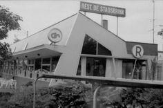 Sybold van Ravesteyn, Busstation NBM, Wageningen1966