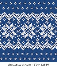 Find Festive Sweater Design Seamless Knitted Pattern stock images in HD and millions of other royalty-free stock photos, illustrations and vectors in the Shutterstock collection. Crochet Mittens Free Pattern, Fair Isle Knitting Patterns, Knitting Blogs, Knitting Charts, Knitting Stitches, Knitting Designs, Cross Stitch Borders, Cross Stitch Rose, Cross Stitch Designs