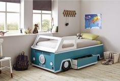 Dormitorios infantiles retro