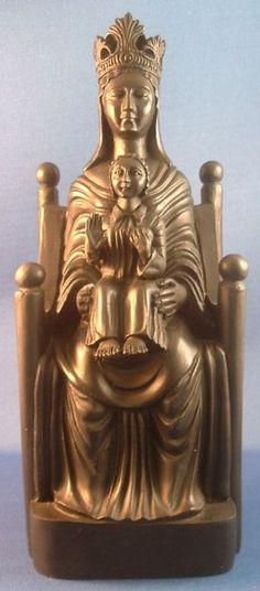 black madonna statue | Black Madonna de Sous Terra Statue