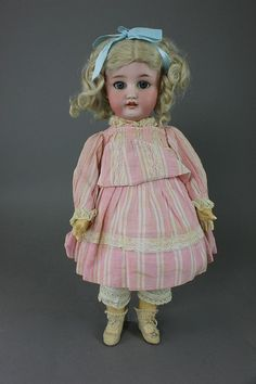 "16"" C.M. BERGMANN SIMON & HALBIG - by McMasters Harris Appletree Doll Auctions"