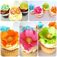60's cupcakes