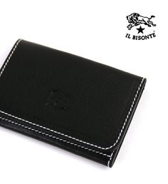 IL BISONTEホワイトステッチ レザー  カードケース Money Clip, Wallet, Gold, Accessories, Blue, Money Clips, Purses, Diy Wallet, Purse