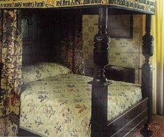 The William Morris bed at Kelmscott