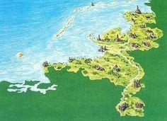 Hoe Nederland eruit zou zien zonder dijken.