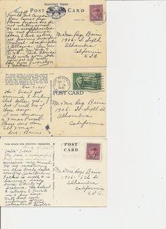 Postcard Backs   by PaperScraps