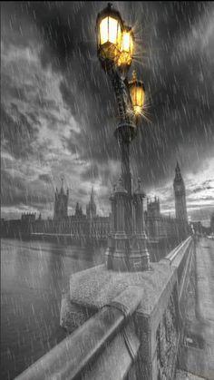 London rain....... ᘡղbᘠ