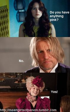 Mean girls hunger games combo