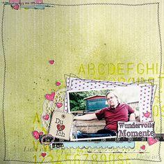 DT-Arbeit für die #scrapbookwerkstatt  Serie: #Zeitreise  http://www.scrapbook-werkstatt.de