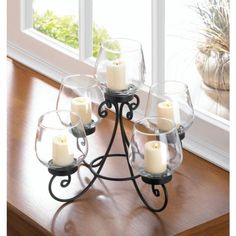 Gorgeous Enlightened Candle Table Centerpiece #GalleryofLight